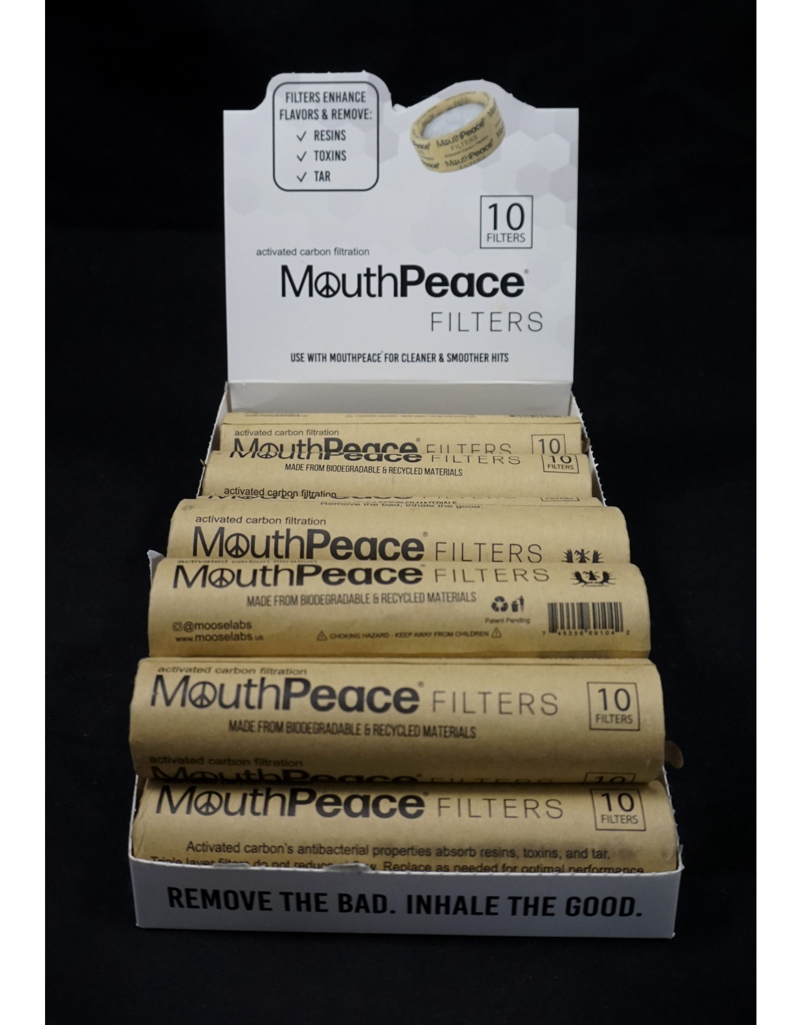 Mouthpeace Filter Refill Roll
