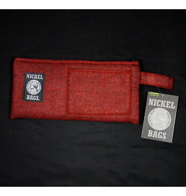 Dime Bags Dime Bags 9″ Zippered Pouch – Red