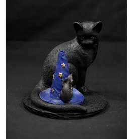 Magical Cat and Mouse Incense Burner