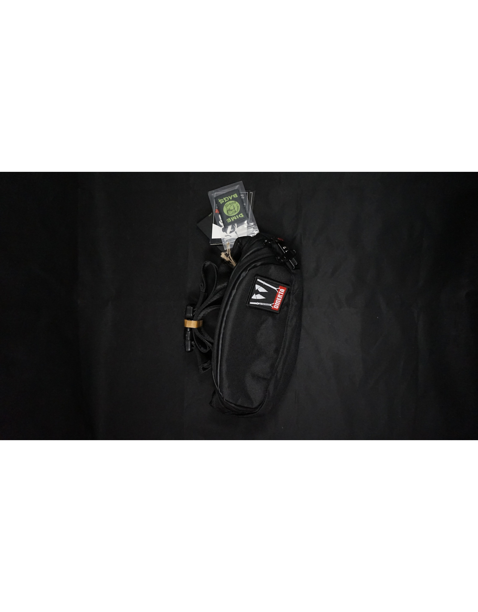 """Dime Bags Dime Bags Omerta - 10"""" Smell Proof Lockable Fanny Pack"""