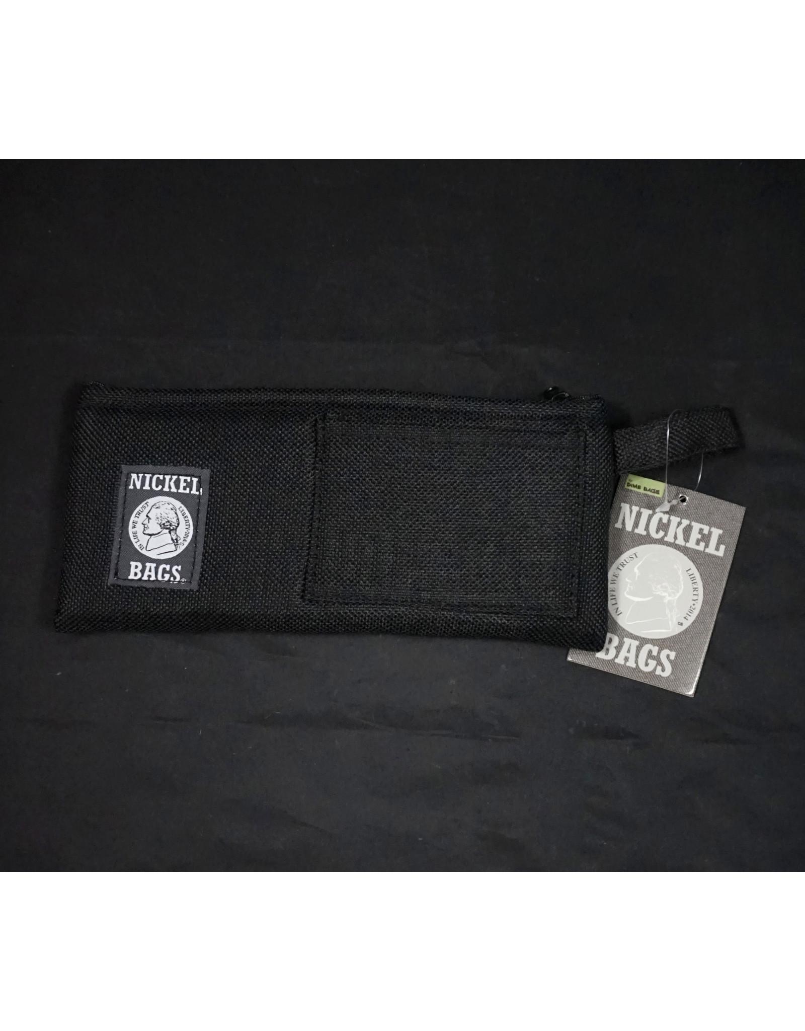 Dime Bags Dime Bags 9″ Zippered Pouch – Black