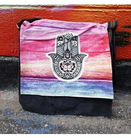 Hamsa Messenger Bag