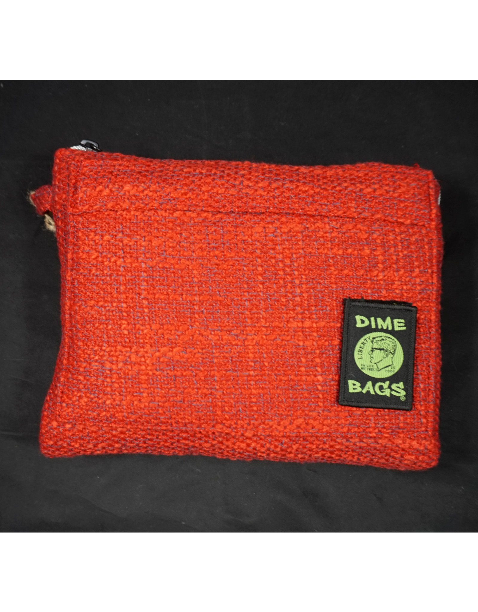 """Dime Bags Dime Bags 10"""" All-in-One Pouch - Red"""