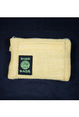 """Dime Bags Dime Bags 8"""" All-in-One Pouch - Yellow"""