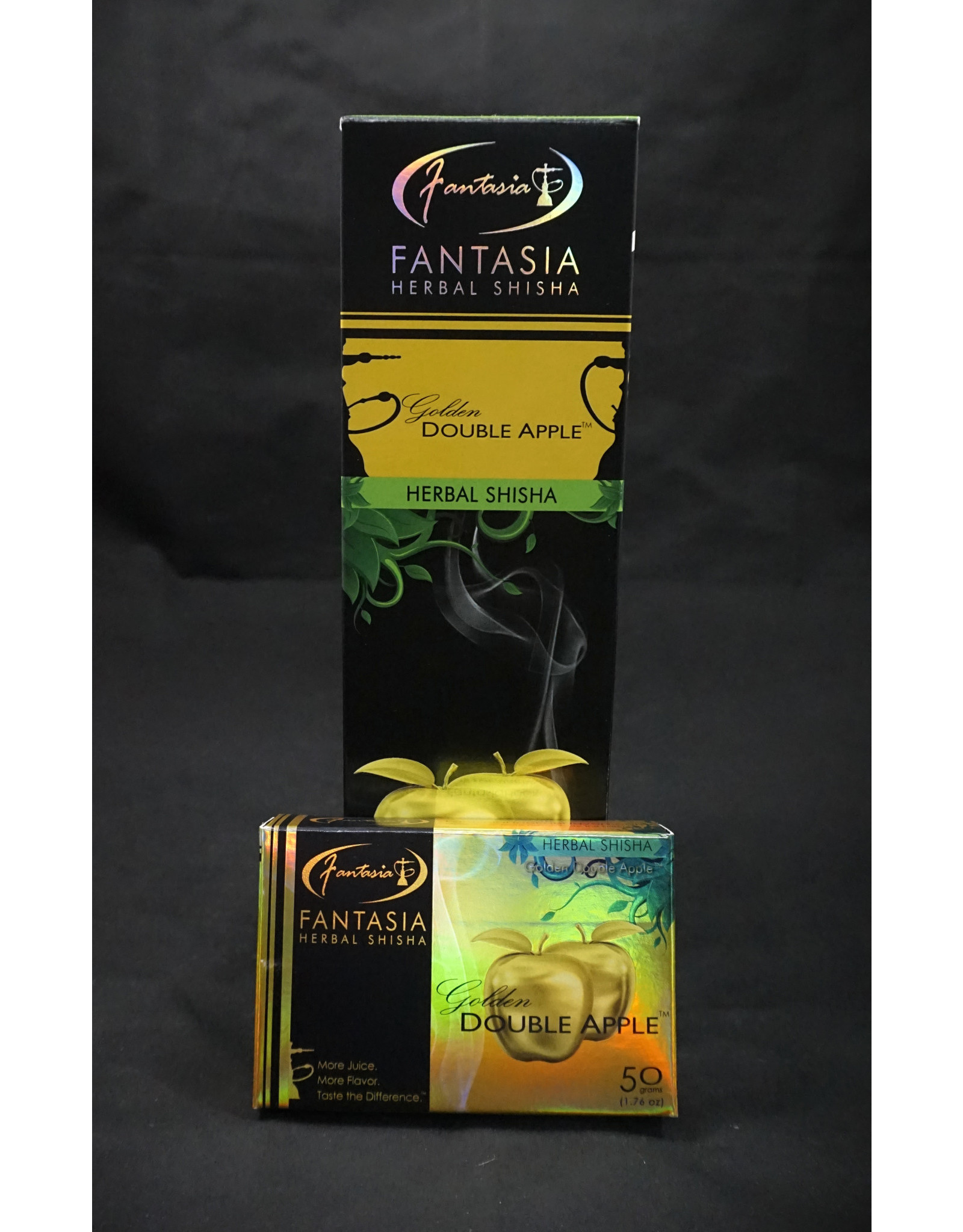 Fantasia Herbal Shisha - Golden Double Apple