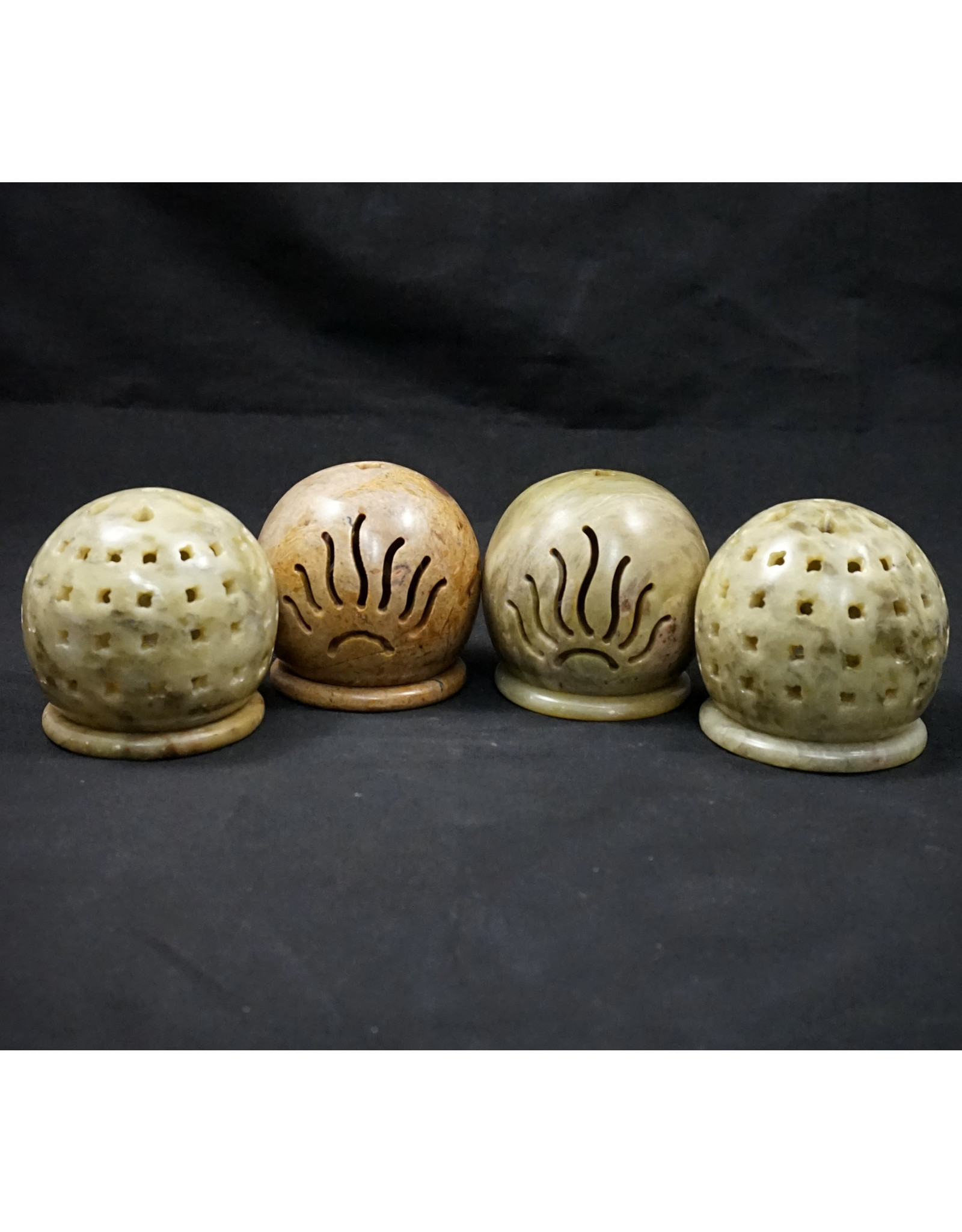 Soapstone Incense Burners - Assorted
