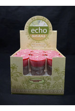 Echo Naturals Votive Candle - Strawberry Cream