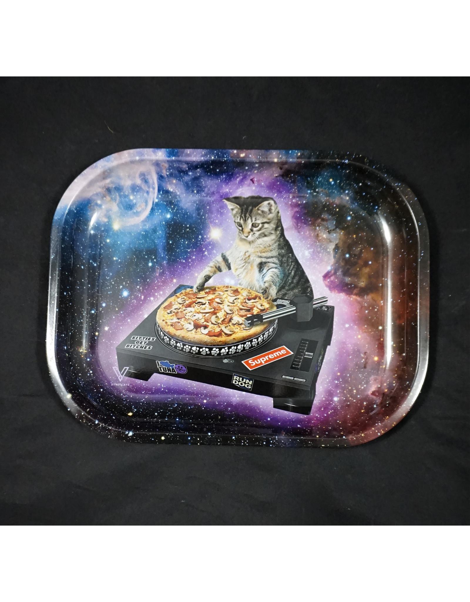 DJ Cat Small Rolling Tray