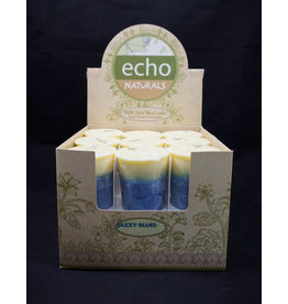 Echo Naturals Votive Candle -Jazzy Blues