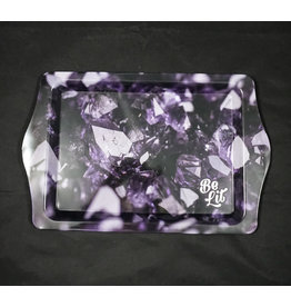 Be Lit Be Lit Travel Rolling Tray - Amethyst