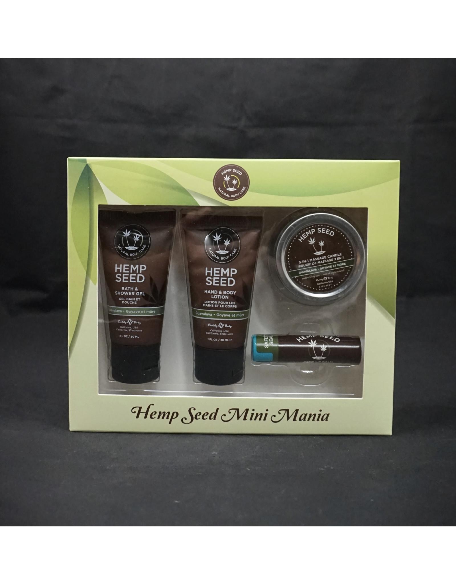 Earthly Body Hemp Seed Mini Mania Gift Set - Guavalava