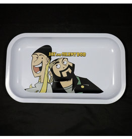 Famous Brandz Famous Brandz Rolling Tray Medium Jay and Slient Bob