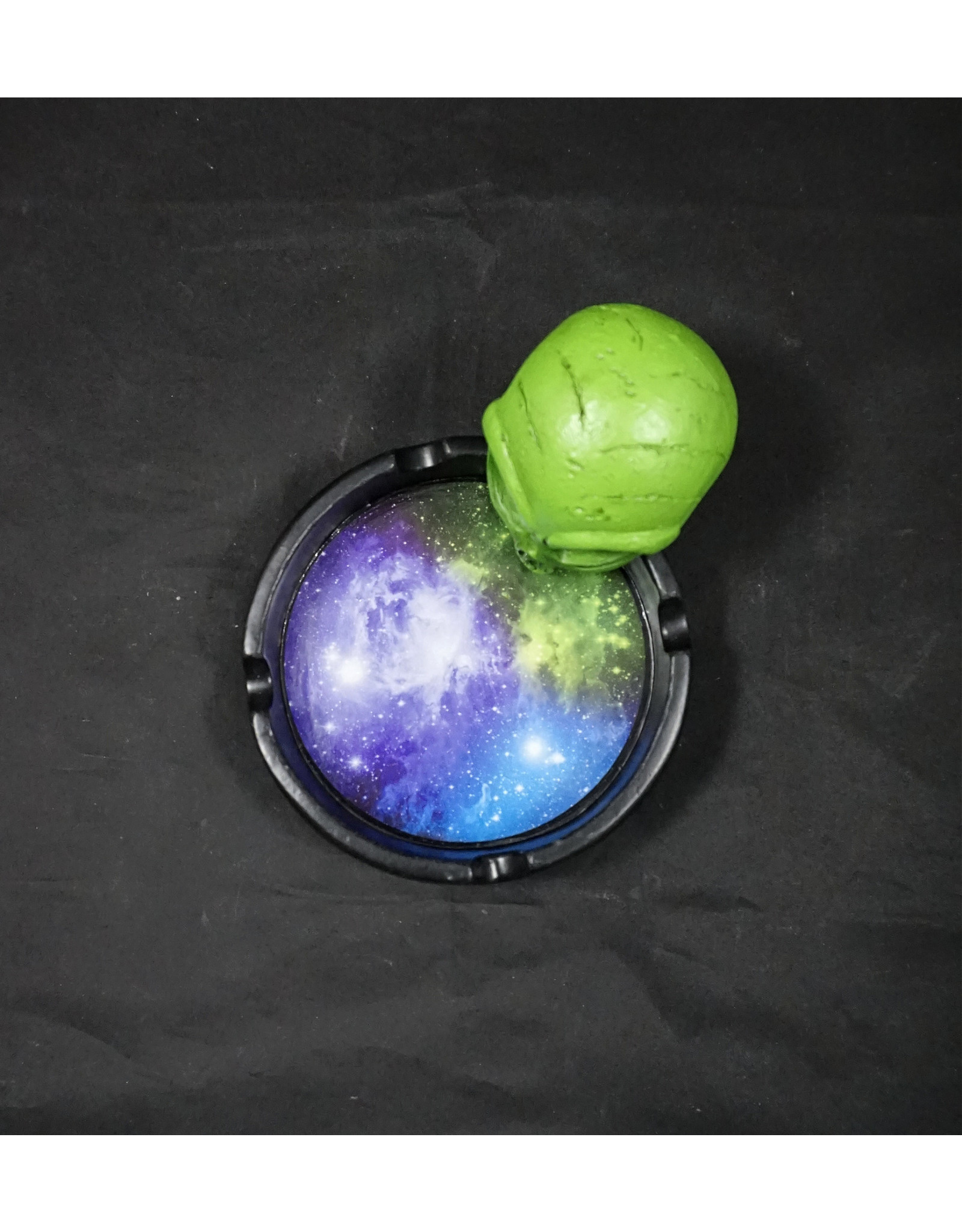 Angry Space Alien Ashtray