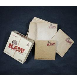 """Raw Raw Parchment Pouch - 3'' X 3"""" 20pk"""
