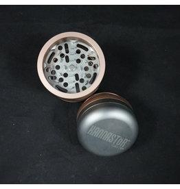 """Kannastor GR8TR V2 Grinder Jar 2.2"""" - Silver/Rose Gold"""