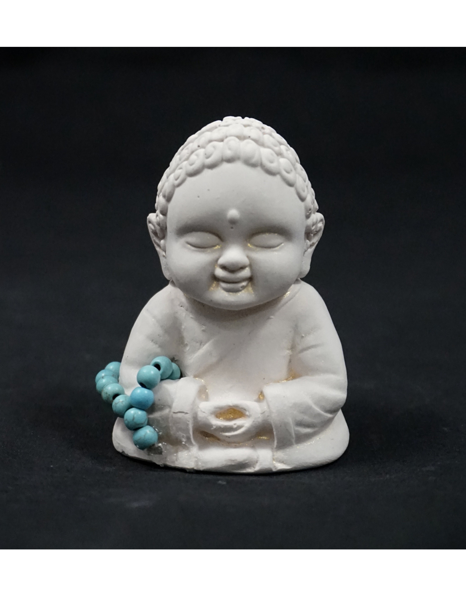 Gypsum Cement Buddha Figurine - Meditation