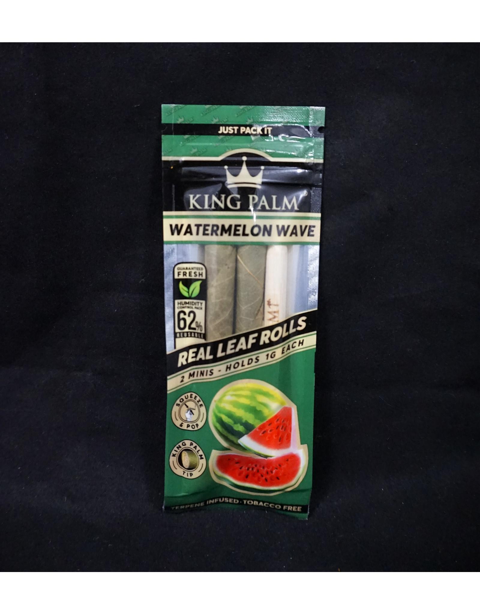King Palm King Palm Pre-Roll Wraps – 2pk Mini Watermelon Wave