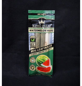 King Palm King Palm Pre-Roll Wraps – 2pk Mini Watermelon Wave