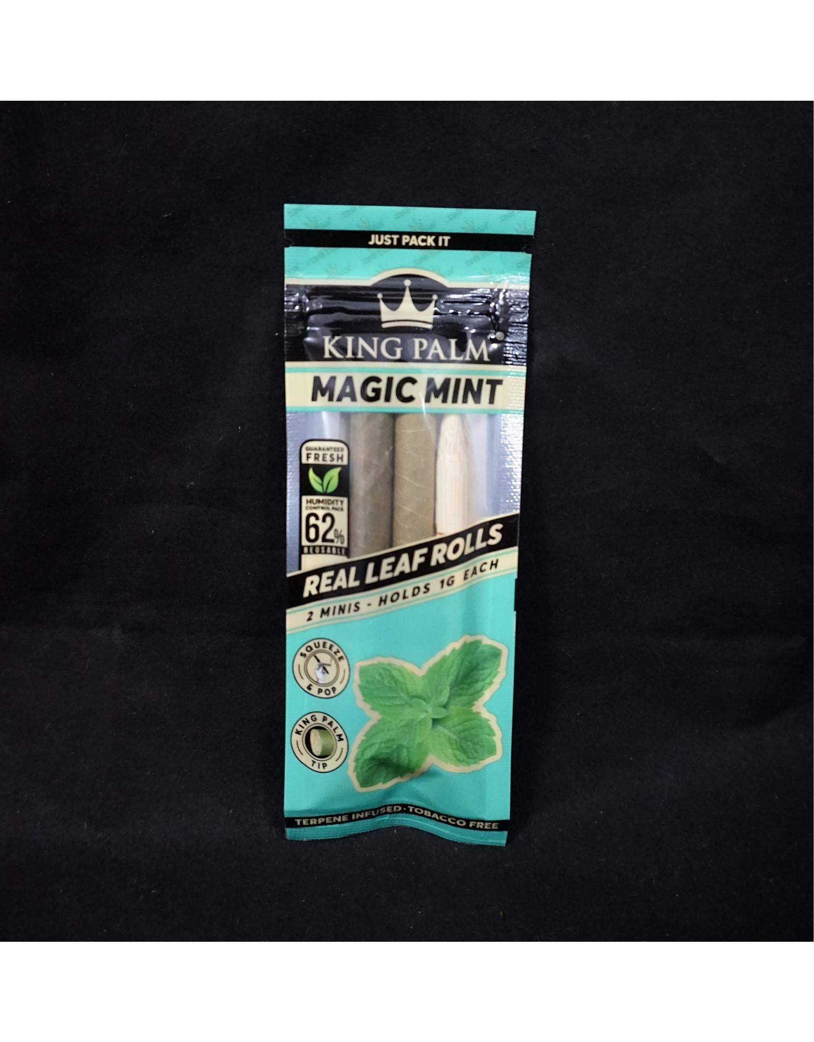 King Palm King Palm Pre-Roll Wraps - 2pk Mini Magic Mint
