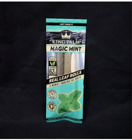 King Palm King Palm Pre-Roll Wraps - 2pk Mini Magic Mint