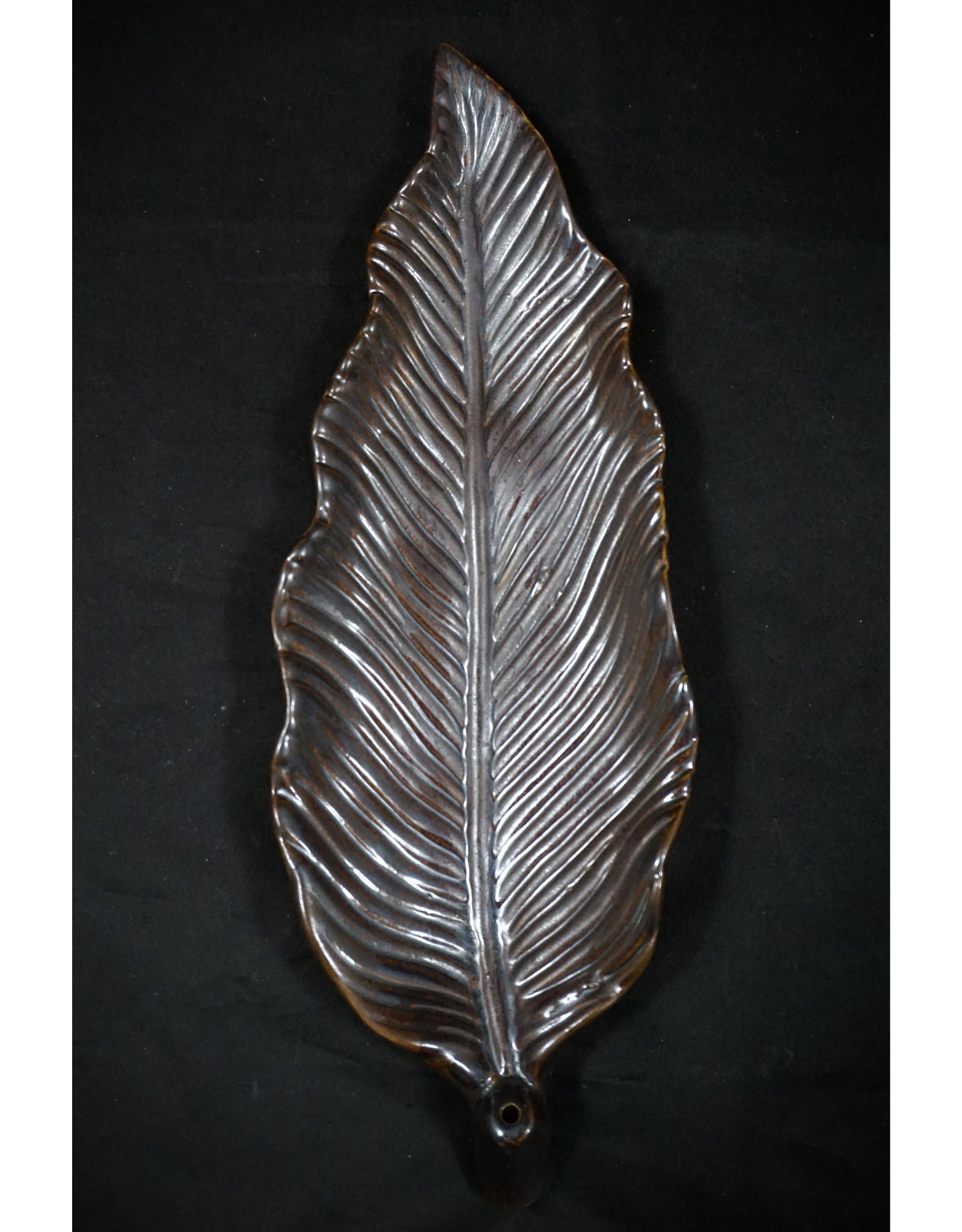 Leaf Ceramic Incense Burner