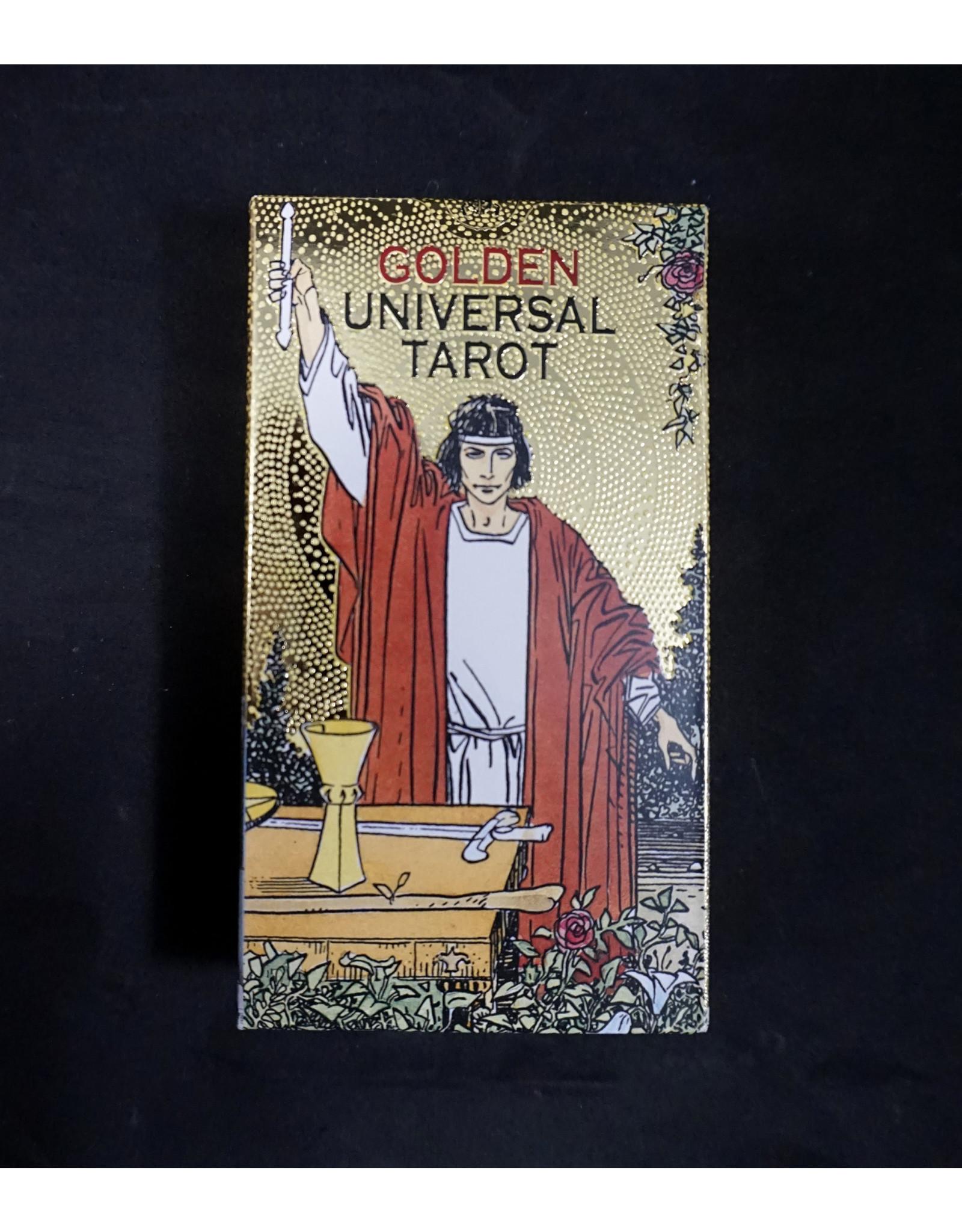 Golden Universal Tarot Deck by Lo Scarabeo
