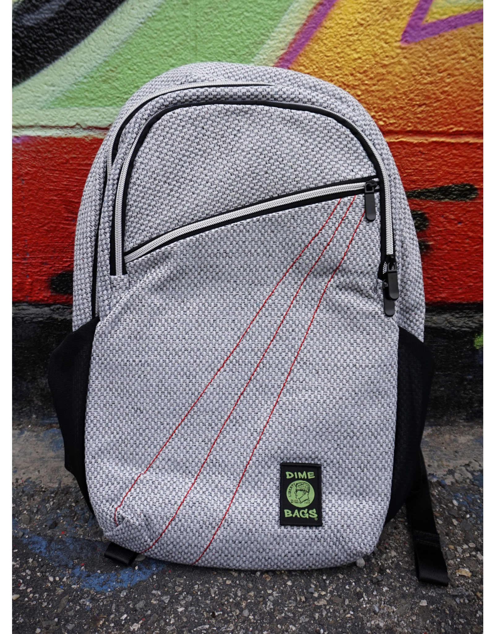 Dime Bags Dime Bags City Dweller Backpack - Silver