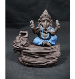 Ceramic Backflow Incense Burner - Ganesha