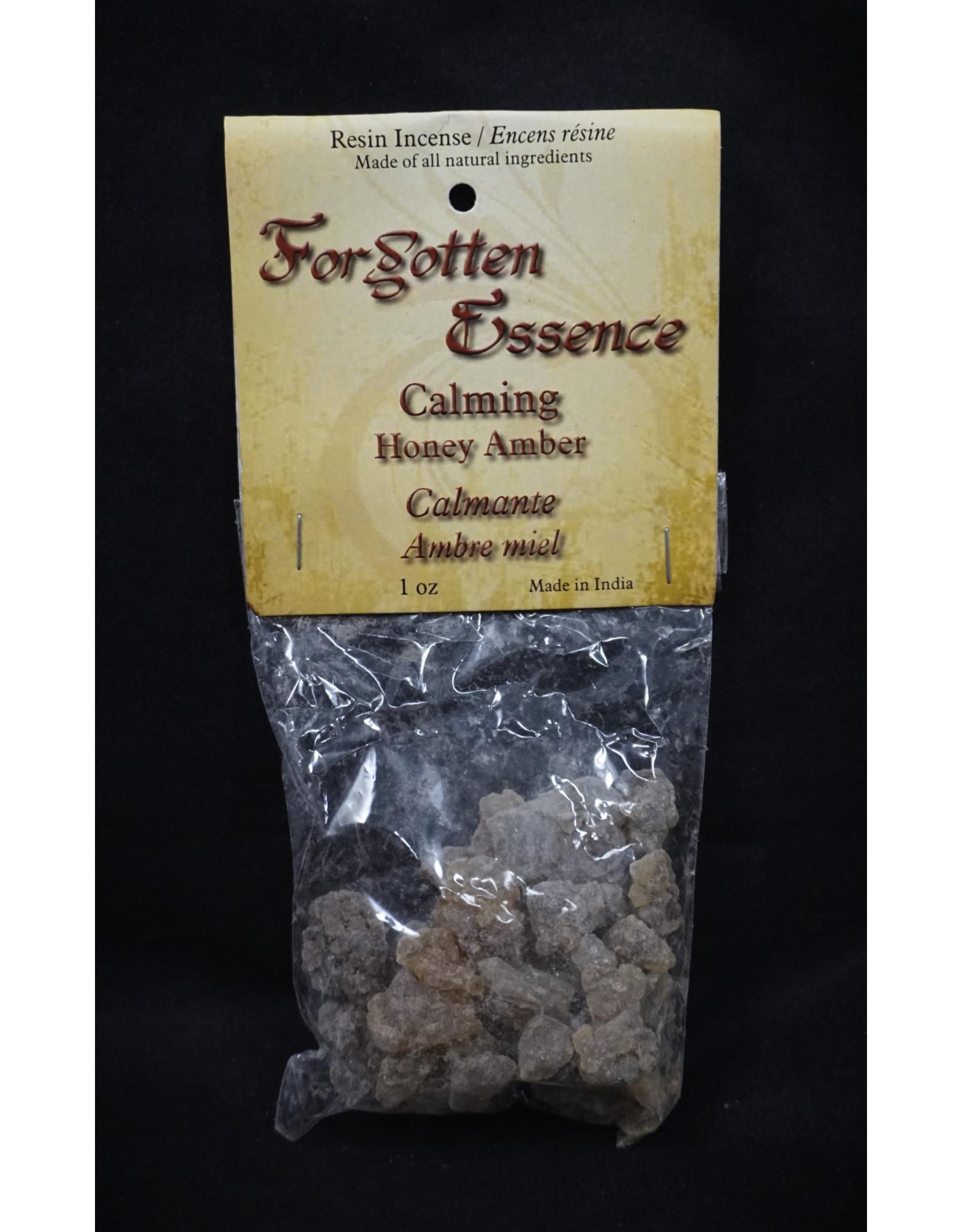 Forgotten Essence Resin Incense 1oz - Honey Amber