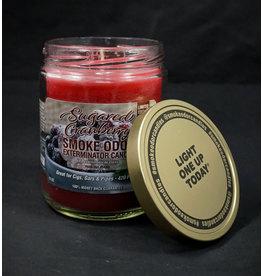 Smoke Odor Smoke Odor Candle - Sugared Cranberry
