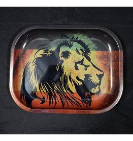 Rasta Lion Small Rolling Tray