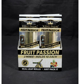King Palm King Palm Pre-Roll Wraps – 2pk Mini Fruit Passion