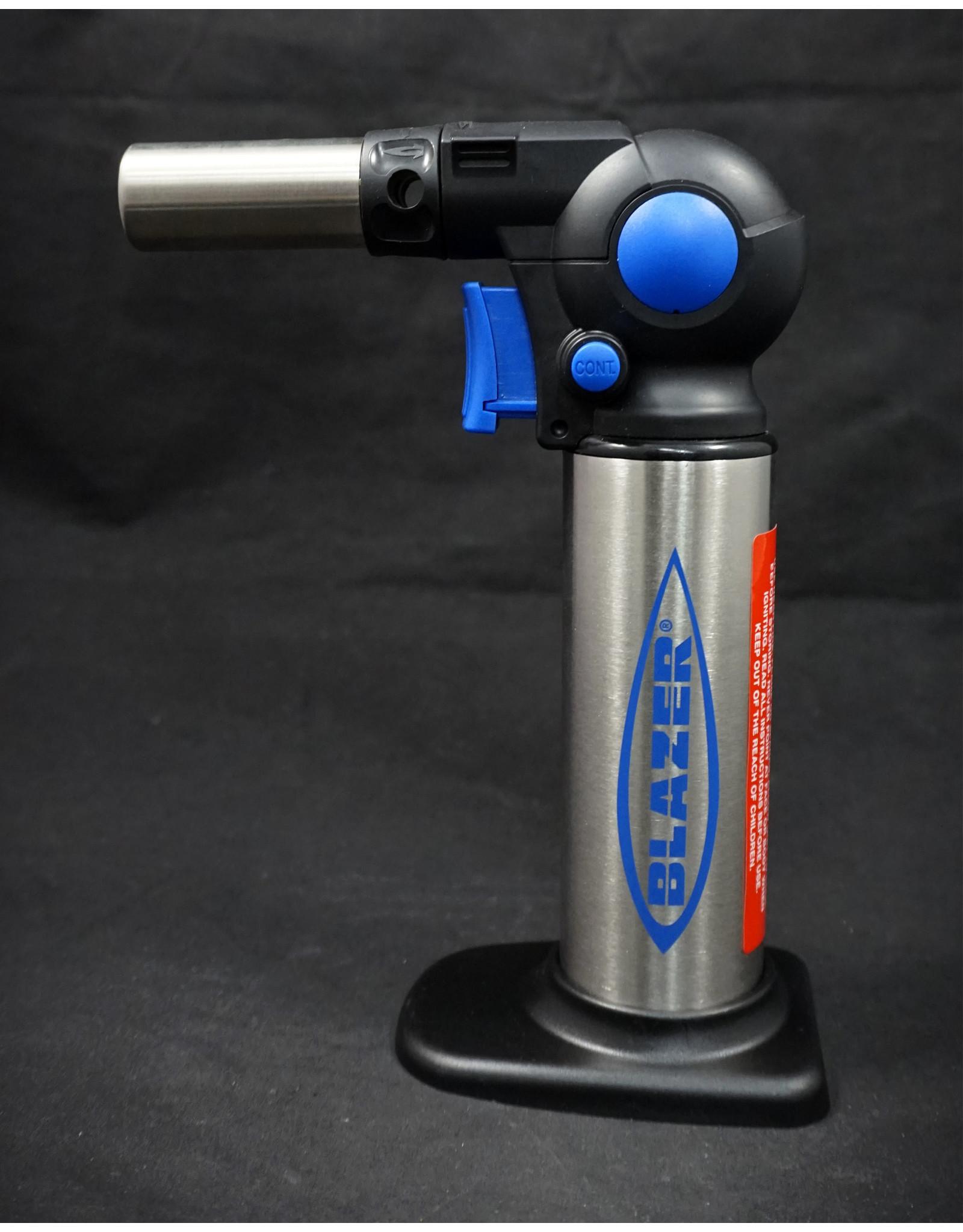 "Blazer Blazer Flexible Dual Flame Turbo Torch FX-1000 7.5"" - Blue"