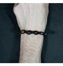 Magnetic Hematite Bracelet - Tiger's Eye