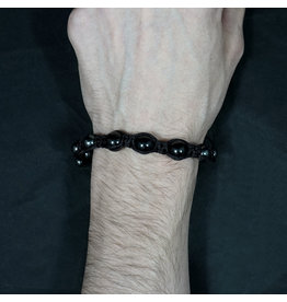 Magnetic Hematite Bracelet - Black Tourmaline