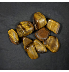 Gold Tiger's Eye Large Tumbled Stone