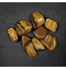 Gold Tiger's Eye Tumbled Stone