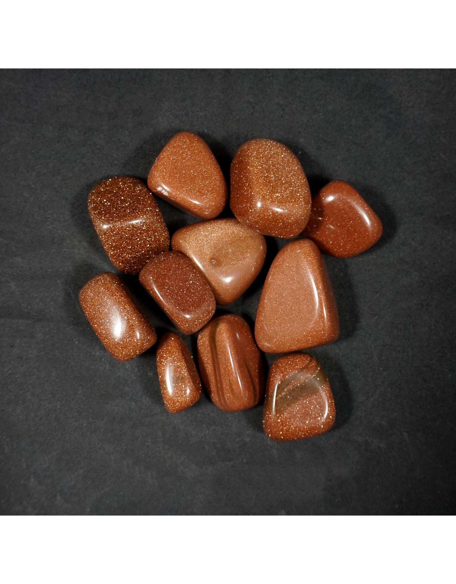 Goldstone Tumbled Stone