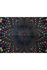 3D Weed Vortex Mini Tapestry