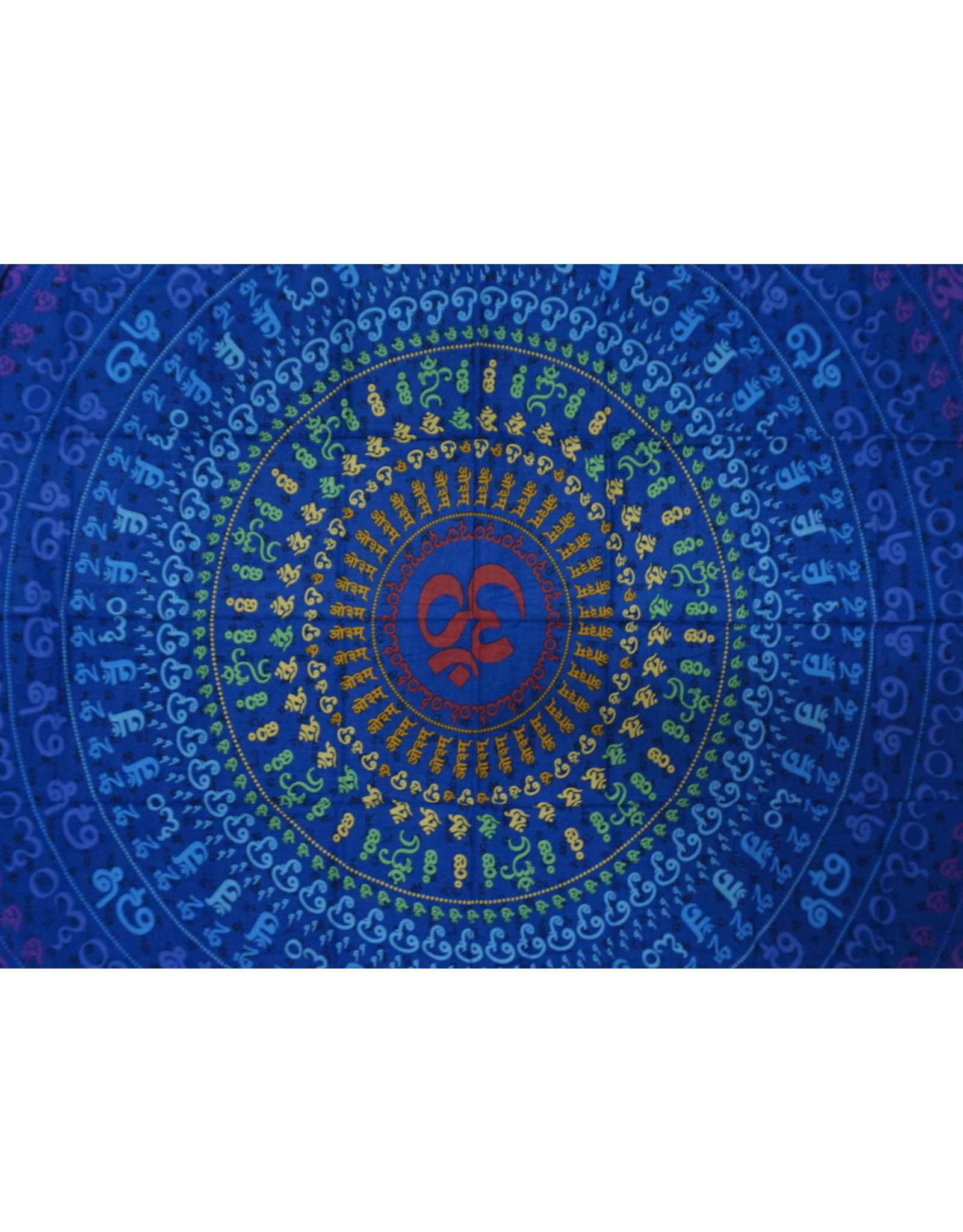 3D Universal Om Mini Tapestry