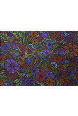 3D Lush Flower Mini Tapestry