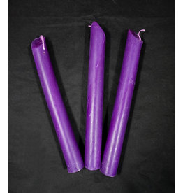 Candlestock Purple Drip Candle