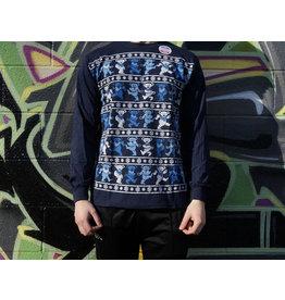 Dancing Bear Xmas Sweater Grateful Dead Long Sleeve Shirt -