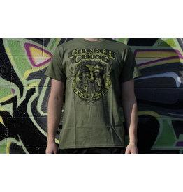 Cheech & Chong's Up in Smoke Green In Bud We Trust Cheech & Chong Shirt