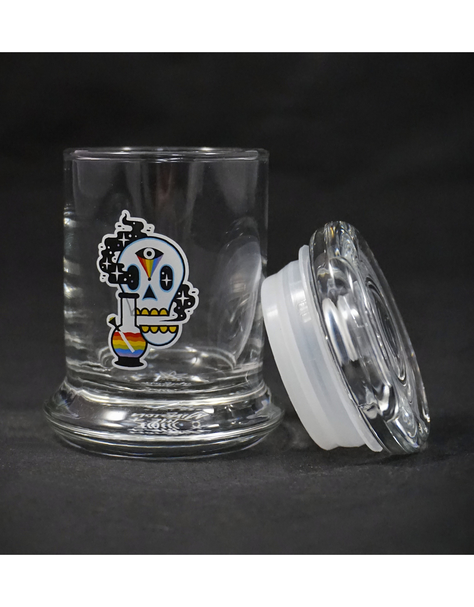 420 Science 420 Science Jars XSmall Cosmic Skull Pop Top