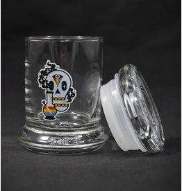 420 Science 420 Science Jars XSmall Cosmic Skull Pop Top