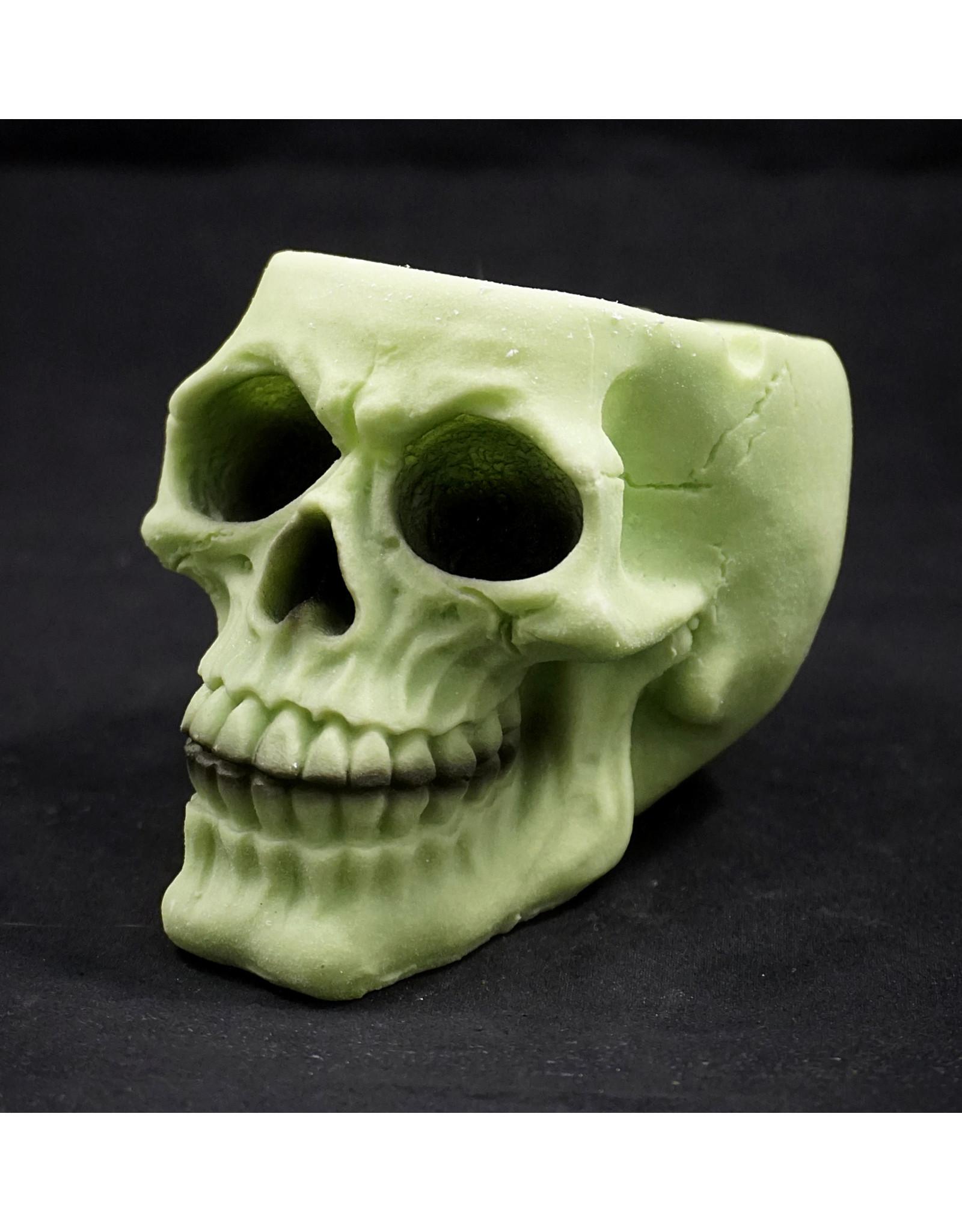 Glowing Skull Polyresin Ashtray