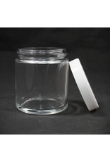 Ooze Glass Jar 4oz - White