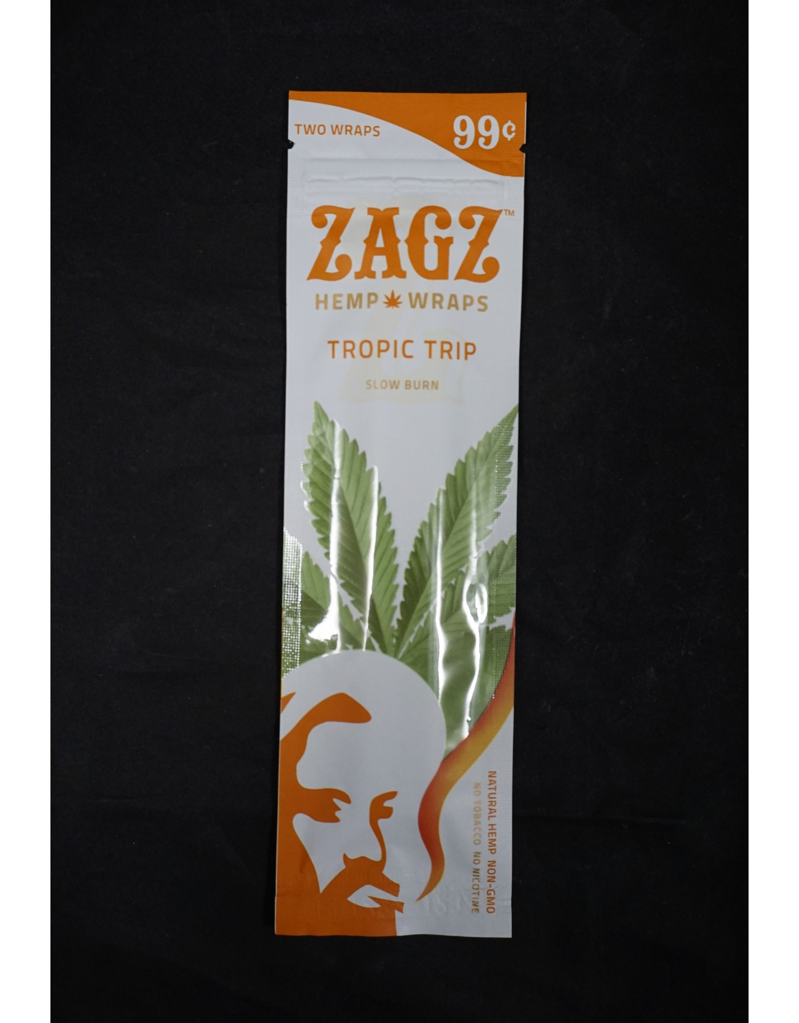 ZigZag Papers Zig Zag Natural Hemp Wraps - Tropic Trip