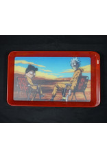 Rick & Morty Chairs LED Rolling Tray